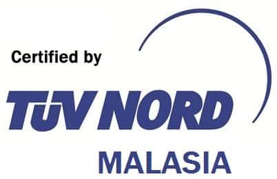 certified TUV-Nord malaysia